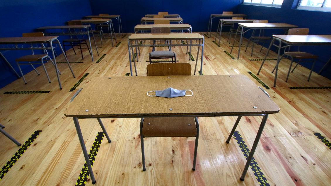 Solo el 27% de los alumnos tuvo al menos una clase presencial por semana en agosto