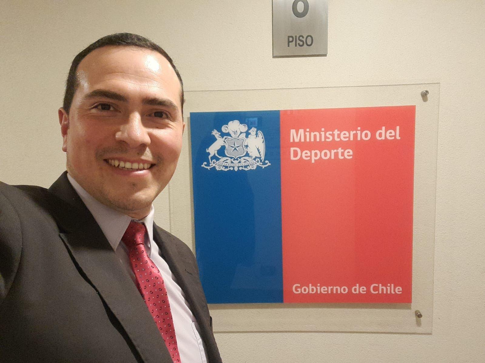 Pedro Sanhueza Cáceres, ex Concejal de Santa Bárbara es nombrado cómo Nuevo Seremi de Deportes