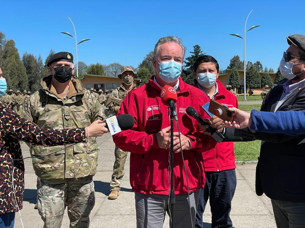 Estado de emergencia en Macrozona Sur: Autoridades descartan toque de queda en Biobío y La Araucanía
