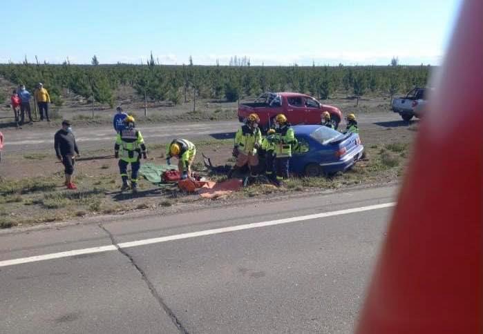 Un fallecido y dos lesionados deja un accidente de tránsito en la comuna de Tucapel