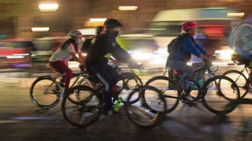 Pasa al Senado proyecto que sanciona a conductores que lesionen a ciclistas
