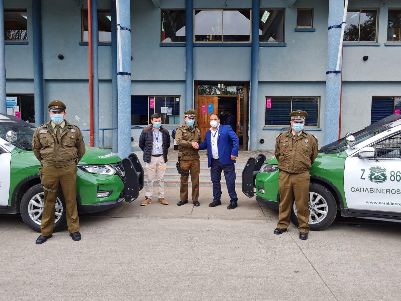 Dos nuevos vehículos de Carabineros arriban a la comuna de Quilaco