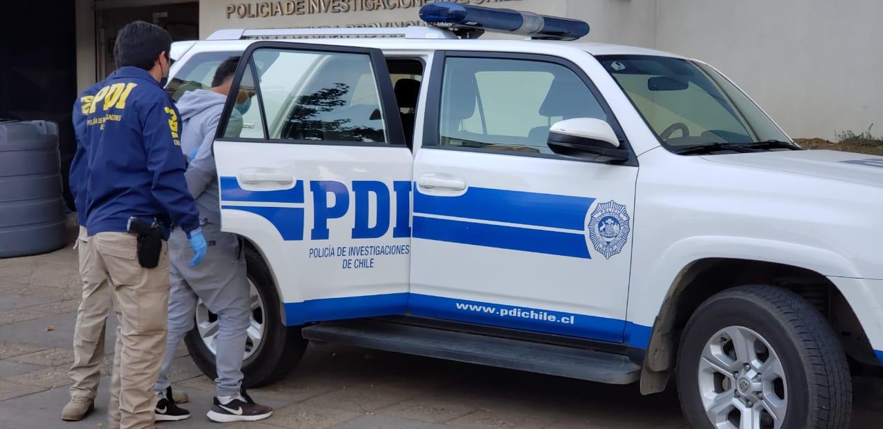 PDI Los Ángeles detuvo a  2 hermanos por su responsabilidad en homicidio ocurrido en Negrete