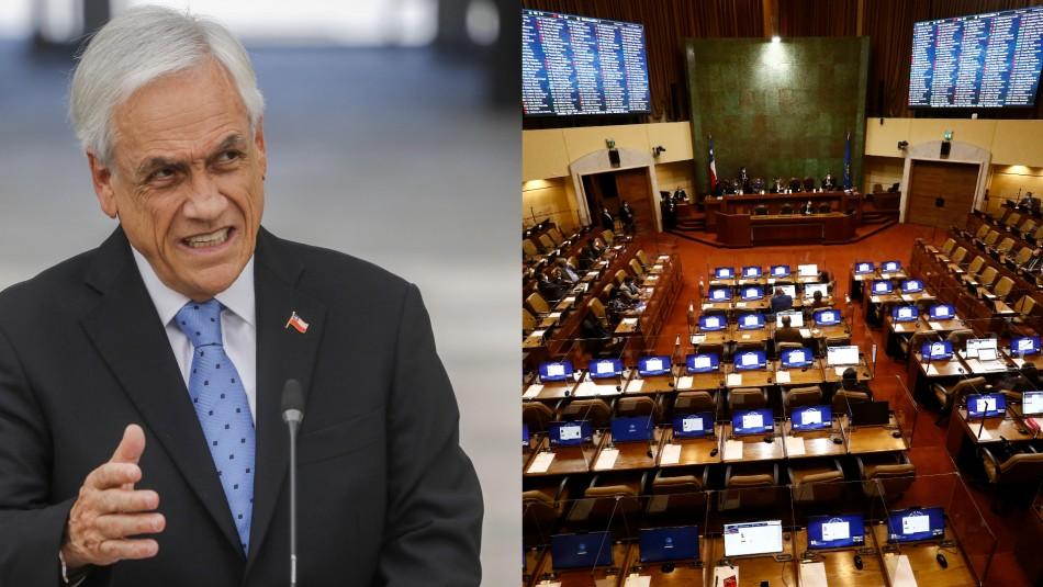 Acusación constitucional contra Piñera amenaza con retrasar tramitación del cuarto retiro en el Senado