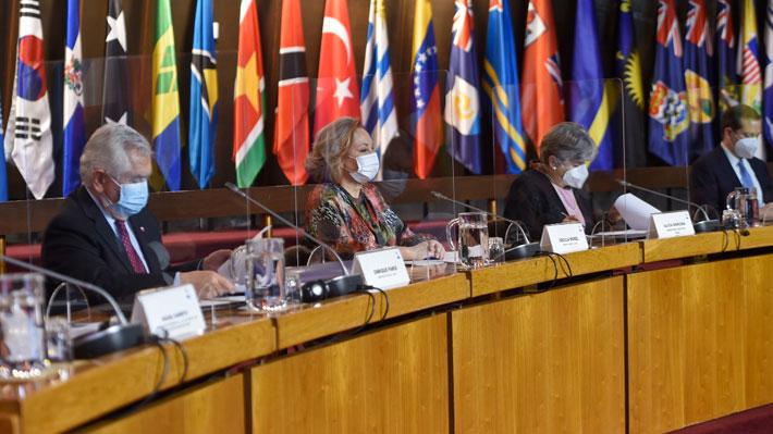 """Autoridades chilenas lideran lanzamiento de iniciativa regional """"década del envejecimiento saludable 2021-2030"""""""