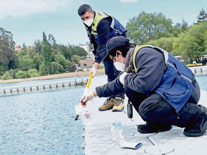 Fiscalizan aguas de balnearios, playas y lagunas en el Biobío