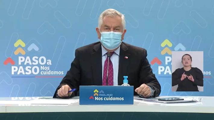 """""""Vacunas van a tener"""": Paris aborda problemas de stock y anuncia sumarios a municipios que no cumplan con calendario"""