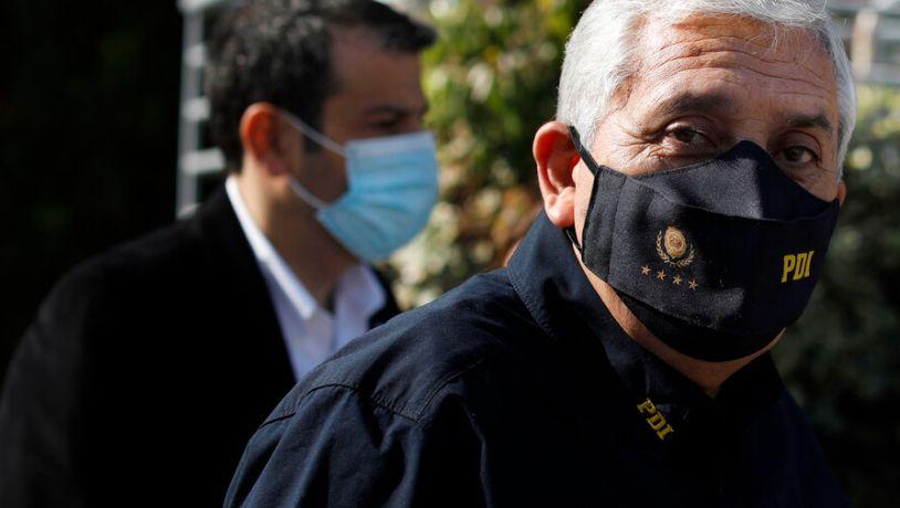 Corte de Apelaciones revocó la prisión preventiva del ex director general de la PDI Héctor Espinosa