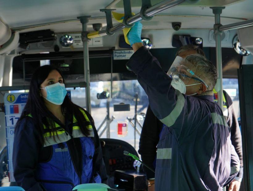 Realizan más de 220 fiscalizaciones de limpieza y sanitización de buses y terminales en el Biobío